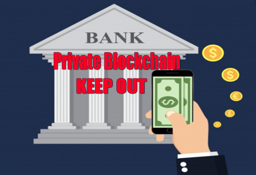 BANKING ON PRIVATE OR PUBLIC BLOCKCHAINS
