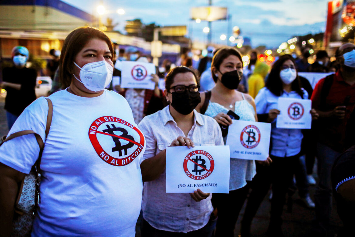 Thousands of Salvadorans Reportedly Protest Against President Bukele's Bitcoin Law